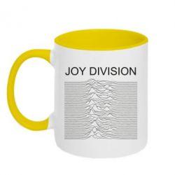 Кружка двоколірна 320ml Joy devision