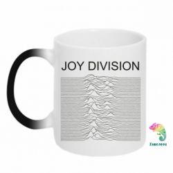 Кружка-хамелеон Joy devision