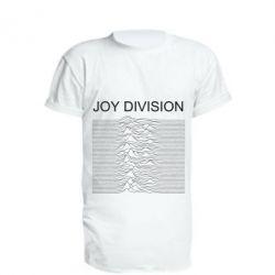 Подовжена футболка Joy devision