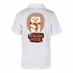Дитяча футболка поло Їжак Поттер