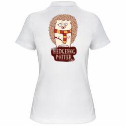 Жіноча футболка поло Їжак Поттер