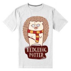 Чоловіча стрейчева футболка Їжак Поттер