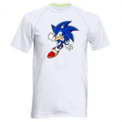 Чоловіча спортивна футболка Ёж Соник