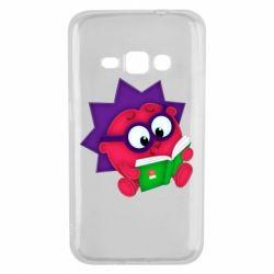 Чехол для Samsung J1 2016 Ёжик
