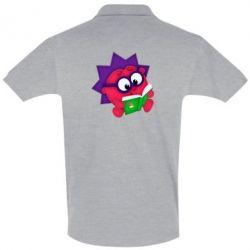Мужская футболка поло Ёжик
