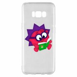 Чехол для Samsung S8+ Ёжик