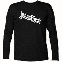 Футболка с длинным рукавом Judas Priest Logo - FatLine