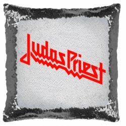 Подушка-хамелеон Judas Priest Logo