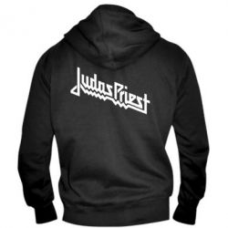 Мужская толстовка на молнии Judas Priest Logo - FatLine