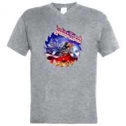 Чоловіча футболка з V-подібним вирізом Judas Priest