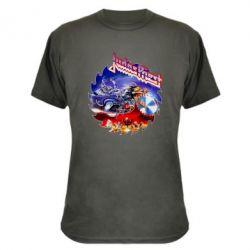 Камуфляжна футболка Judas Priest