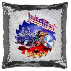 Подушка-хамелеон Judas Priest