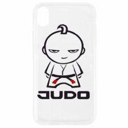 Чохол для iPhone XR Judo Fighter