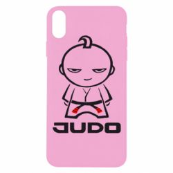 Чохол для iPhone Xs Max Judo Fighter