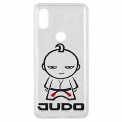 Чехол для Xiaomi Mi Mix 3 Judo Fighter