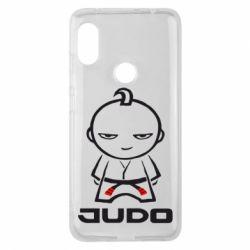 Чехол для Xiaomi Redmi Note 6 Pro Judo Fighter