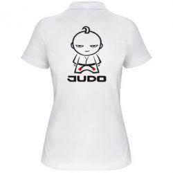 Женская футболка поло Judo Fighter - FatLine