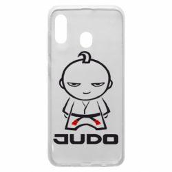 Чохол для Samsung A20 Judo Fighter