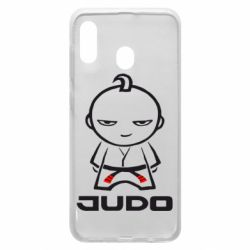 Чохол для Samsung A30 Judo Fighter