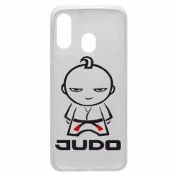 Чохол для Samsung A40 Judo Fighter