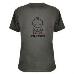 Камуфляжная футболка Judo Fighter - FatLine