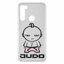 Чехол для Xiaomi Redmi Note 8 Judo Fighter