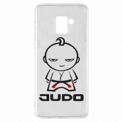 Чохол для Samsung A8+ 2018 Judo Fighter