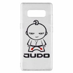 Чохол для Samsung Note 8 Judo Fighter