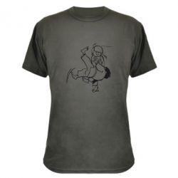 Камуфляжная футболка Judo Fighters - FatLine