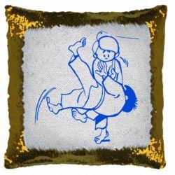 Подушка-хамелеон Judo Fighters