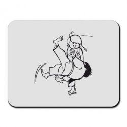 Коврик для мыши Judo Fighters