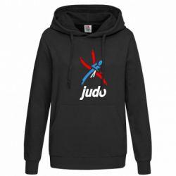 Женская толстовка Judo Logo - FatLine