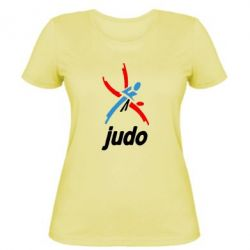 Женская Judo Logo - FatLine