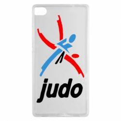 Чохол для Huawei P8 Judo Logo - FatLine