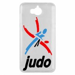 Чохол для Huawei Y5 2017 Judo Logo - FatLine