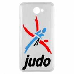 Чохол для Huawei Y7 2017 Judo Logo - FatLine