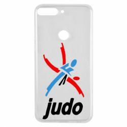 Чохол для Huawei Y7 Prime 2018 Judo Logo - FatLine