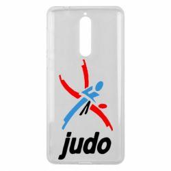 Чохол для Nokia 8 Judo Logo - FatLine