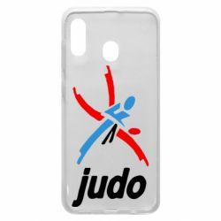 Чохол для Samsung A20 Judo Logo