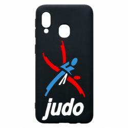 Чохол для Samsung A40 Judo Logo