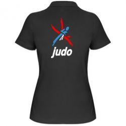 Женская футболка поло Judo Logo - FatLine