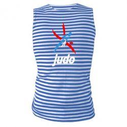 Майка-тельняшка Judo Logo - FatLine