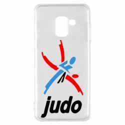 Чохол для Samsung A8 2018 Judo Logo