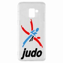 Чохол для Samsung A8+ 2018 Judo Logo
