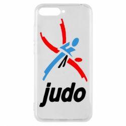 Чохол для Huawei Y6 2018 Judo Logo - FatLine