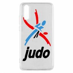 Чохол для Huawei P20 Judo Logo - FatLine