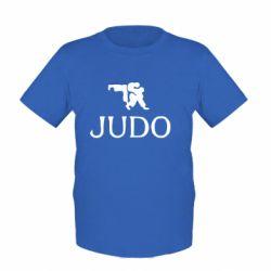 Детская футболка Judo - FatLine