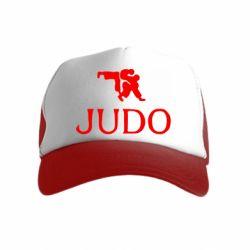 Детская кепка-тракер Judo