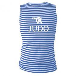 Майка-тельняшка Judo