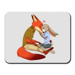 Коврик для мыши Judy and Nick Love - FatLine